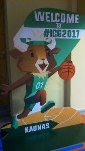 Team mascot International Children's Games