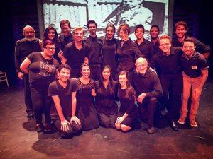 Cast and crew little lion Mill Mountain Theatre